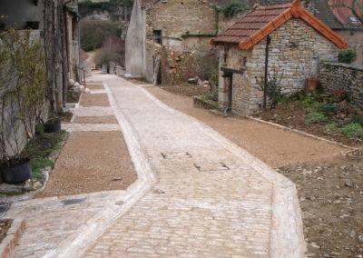 Briançon (05) Pavage