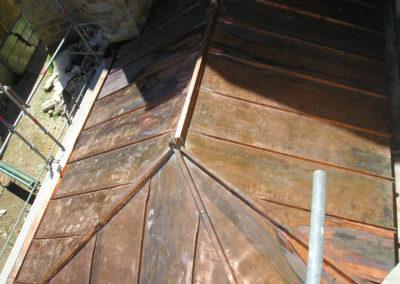 Eglise de VILLENEUVE LACHEVEQUE 89 Couverture cuivre