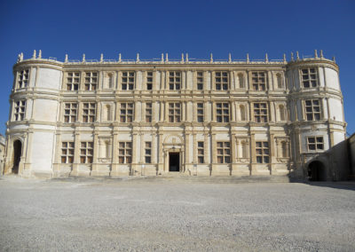 Chateau GRIGNAN (26) Refection façade